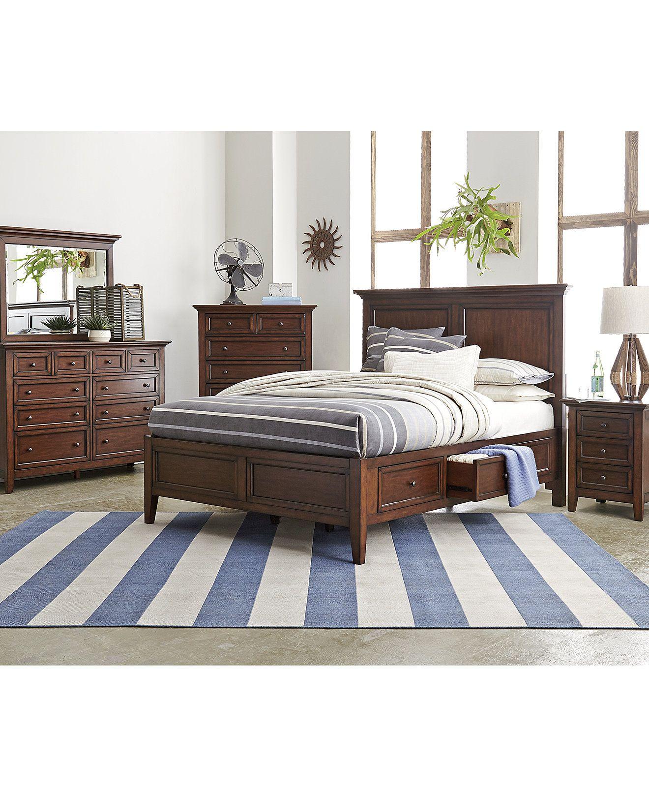 Furniture Matteo Storage Platform Bedroom Furniture Collection
