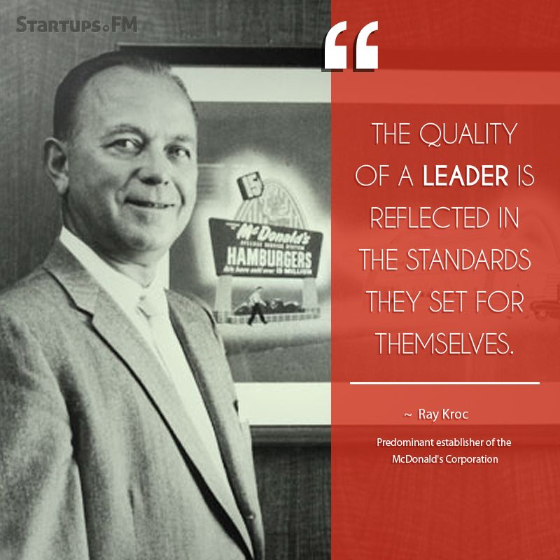 Ray Kroc - Some spectacular words from the man behind @McDonald's #quotes  #quoteoftheday