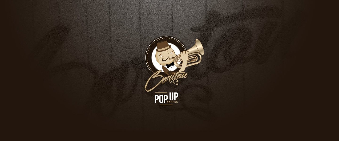 Pin by Noble Notion Design on Logo design + promotion: Pop-up kaffee ...
