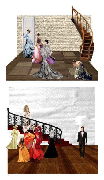 """Cinderella"" by rosiekitten ❤ liked on Polyvore featuring art"