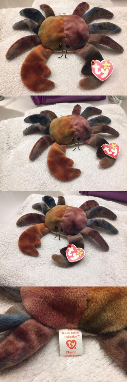 *RARE* Ty. Beanie Babies Claude the Crab *MINT TAG* | eBay