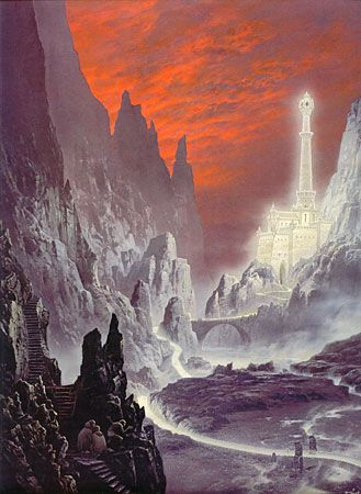 Ted Nasmith - The Tower of the Moon
