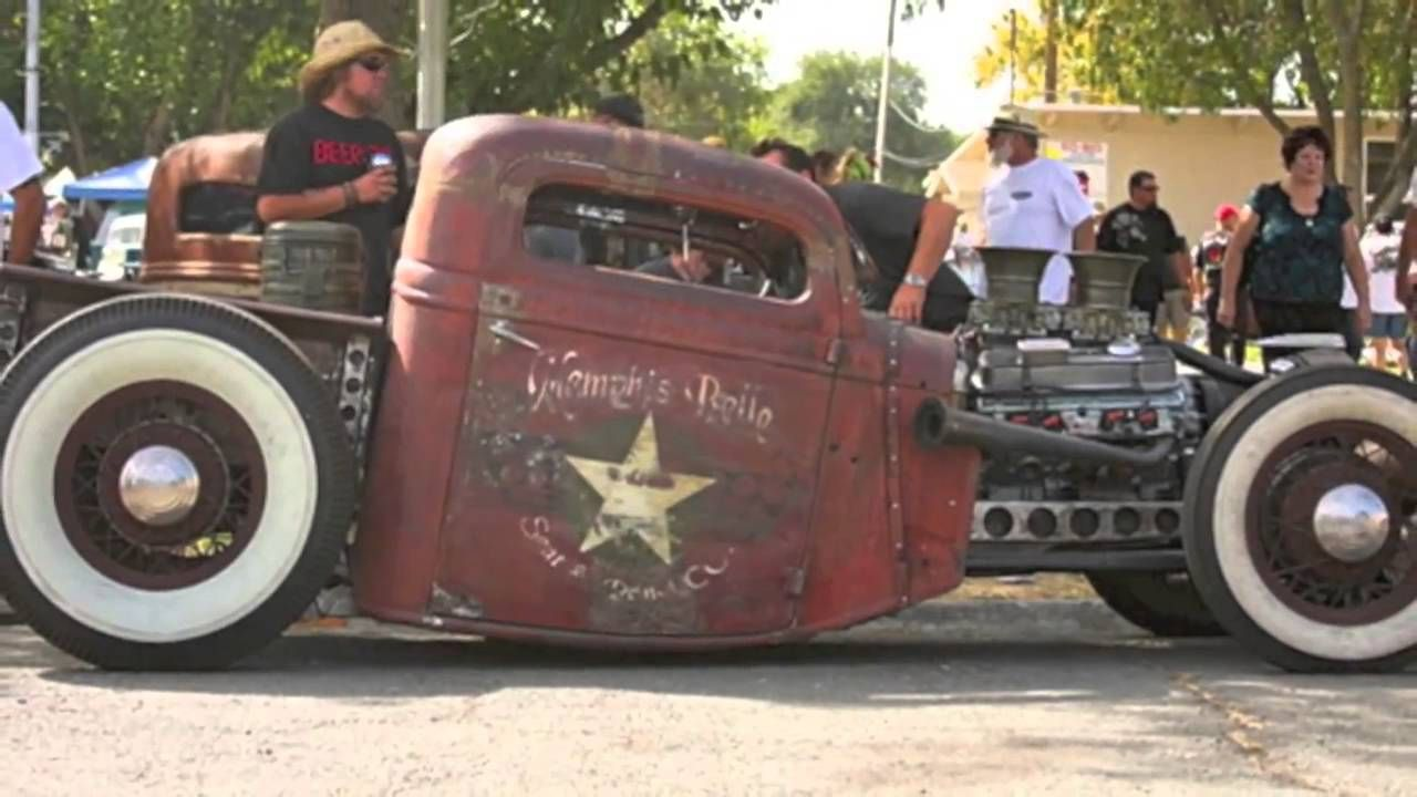 VIDEO/AUDIO: ♬ 400 TOP Hot Rods Rat Rods ❤ RockaBilly Music | Rat ...