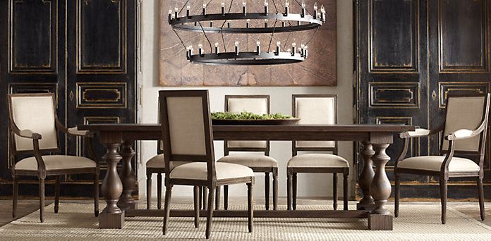 17th C. Monastery Dining | Restoration Hardware