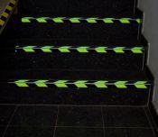 Antirutsch-Warnprofile für Treppenstufen