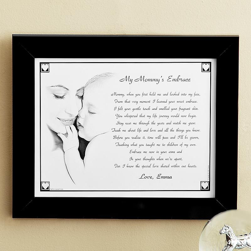 My mommy and grandma embrace framed print scrap and craft my mommy and grandma embrace framed print personalized gifts negle Gallery