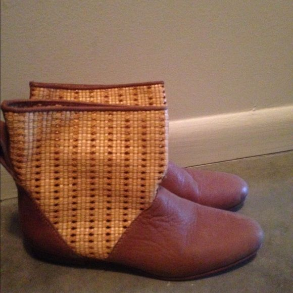 Camel boots argentine leather! 100% leather Shoes Ankle Boots & Booties
