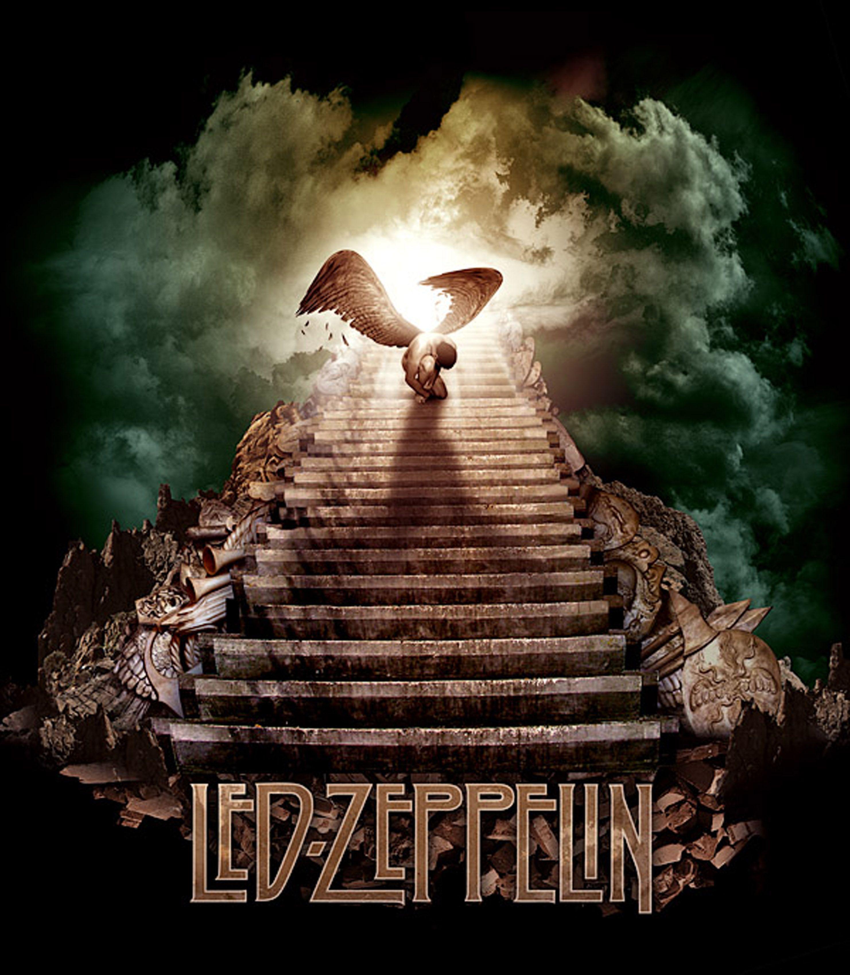 Led Zeppelin Stairway To Heaven Zepp Head Led Zeppelin