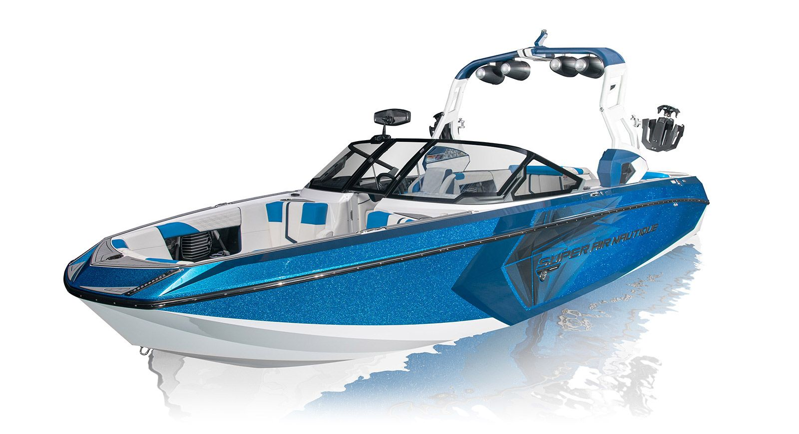 Super Air Nautique G25 3/4 left view Air, Super, Boat
