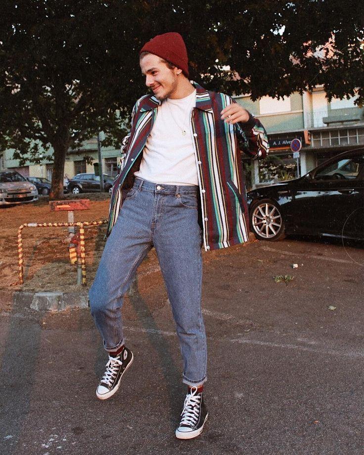 Instagram C A N U Z U N Super Bilder Stylish Mens Outfits Hipster Mens Fashion 80s Fashion Men