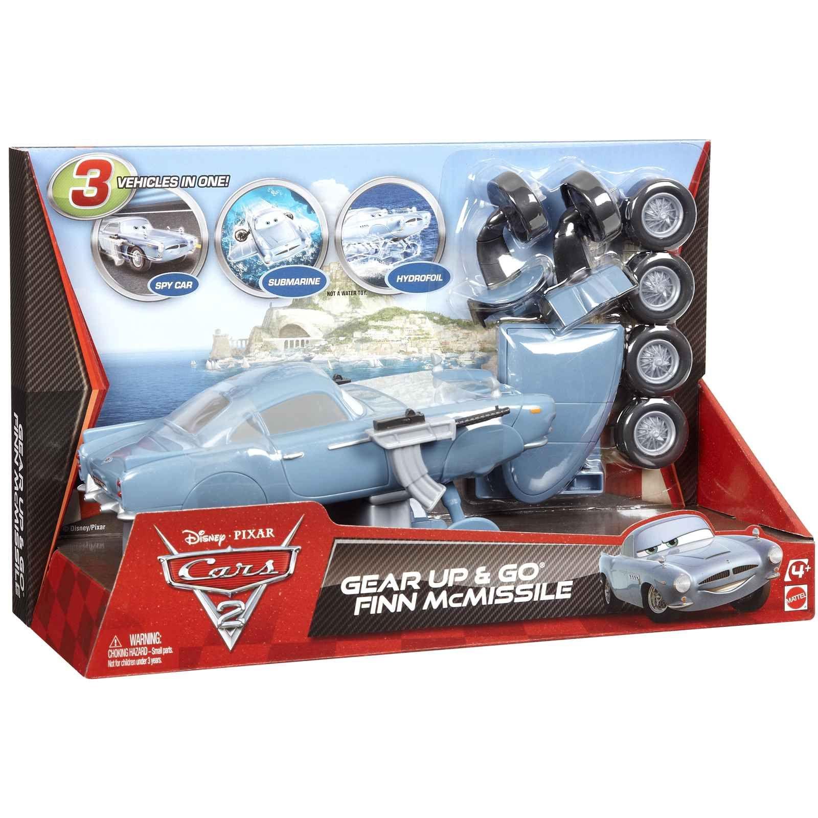 Buy Disney Pixar Cars 2 Gear Up & Go Finn