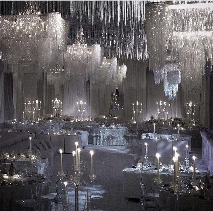 Winter Wedding Reception: Wedding Deco & Reception