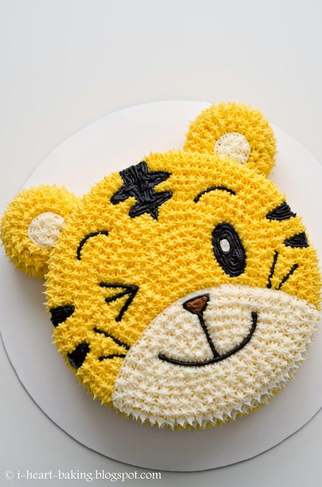 qiaohu tiger cake in 2020 Cartoon cake, Tiger cake, Cake
