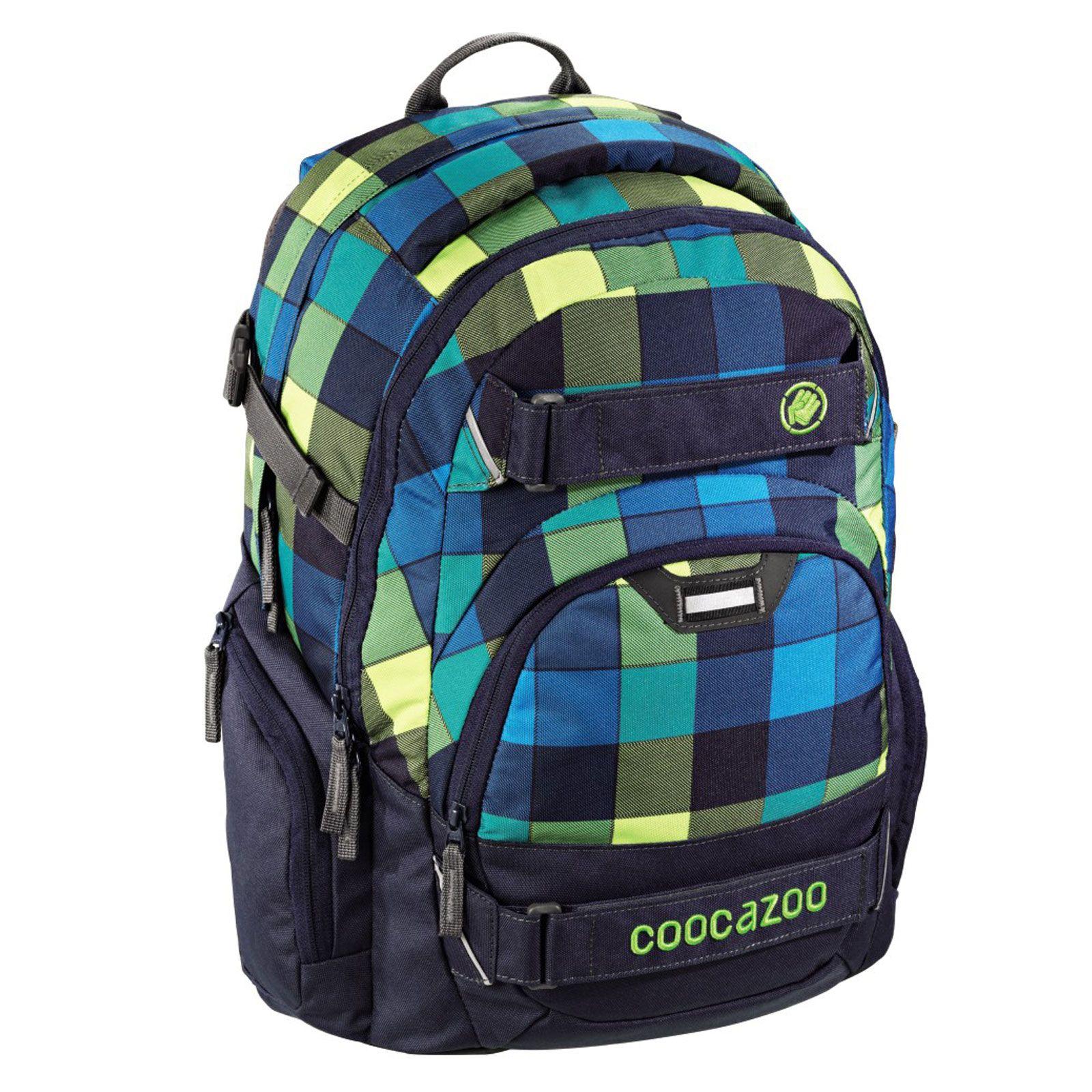 Школьный рюкзак coocazoo evverclevver blue broken рюкзак swiss polo