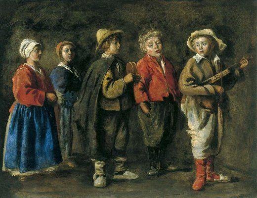 Antoine Le Nain Les Jeunes Musiciens 1640