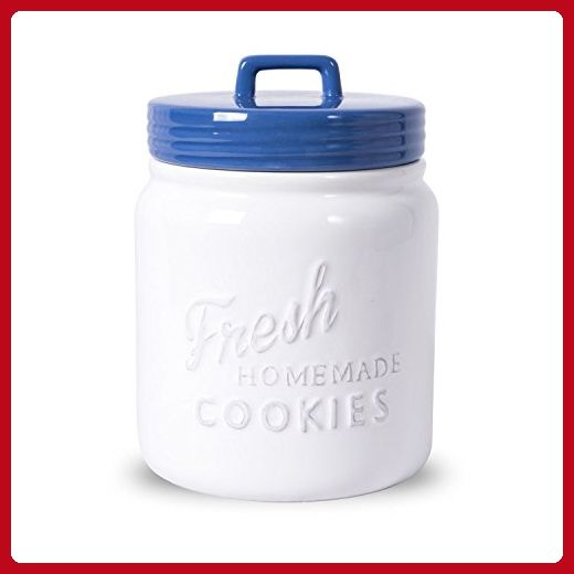 Airtight Cookie Jar Delectable Dii Classic Ceramic Cookie Jar With Airtight Lid  Blueberry Design Decoration