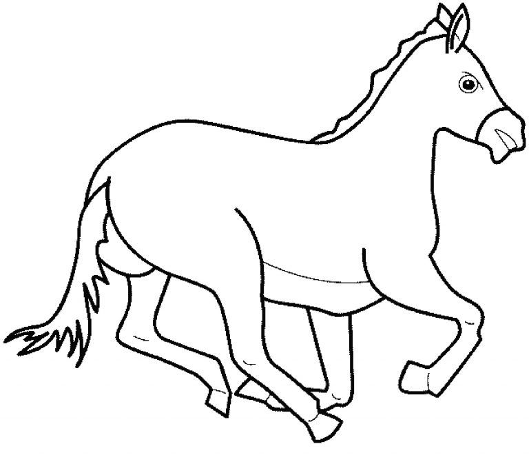 Planse De Colorat Cu Cai Con Imagini Cu Animale Domestice De Colorat E Planse 20desene 20de 20 Animal Coloring Pages Horse Coloring Pages Animal Coloring Books
