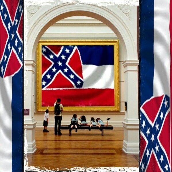Pin On Mississippi Flag