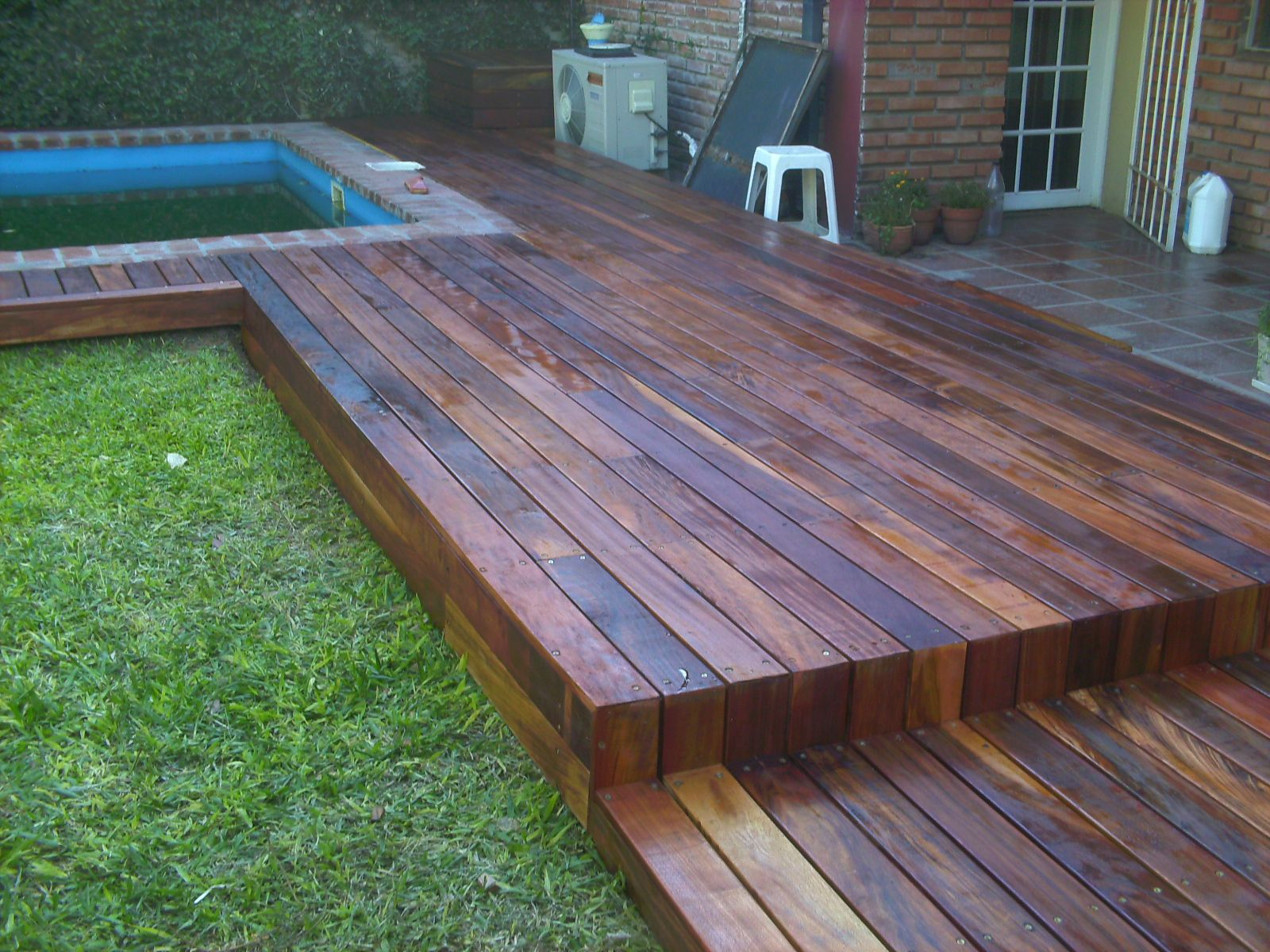 Decks, pisos en madera.