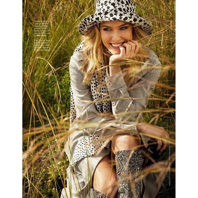 @barrefaeli for Magazin Elle Spain March wearing/ 2015