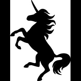 Unicorn Silhouette Unicorn Party Unicorn Images