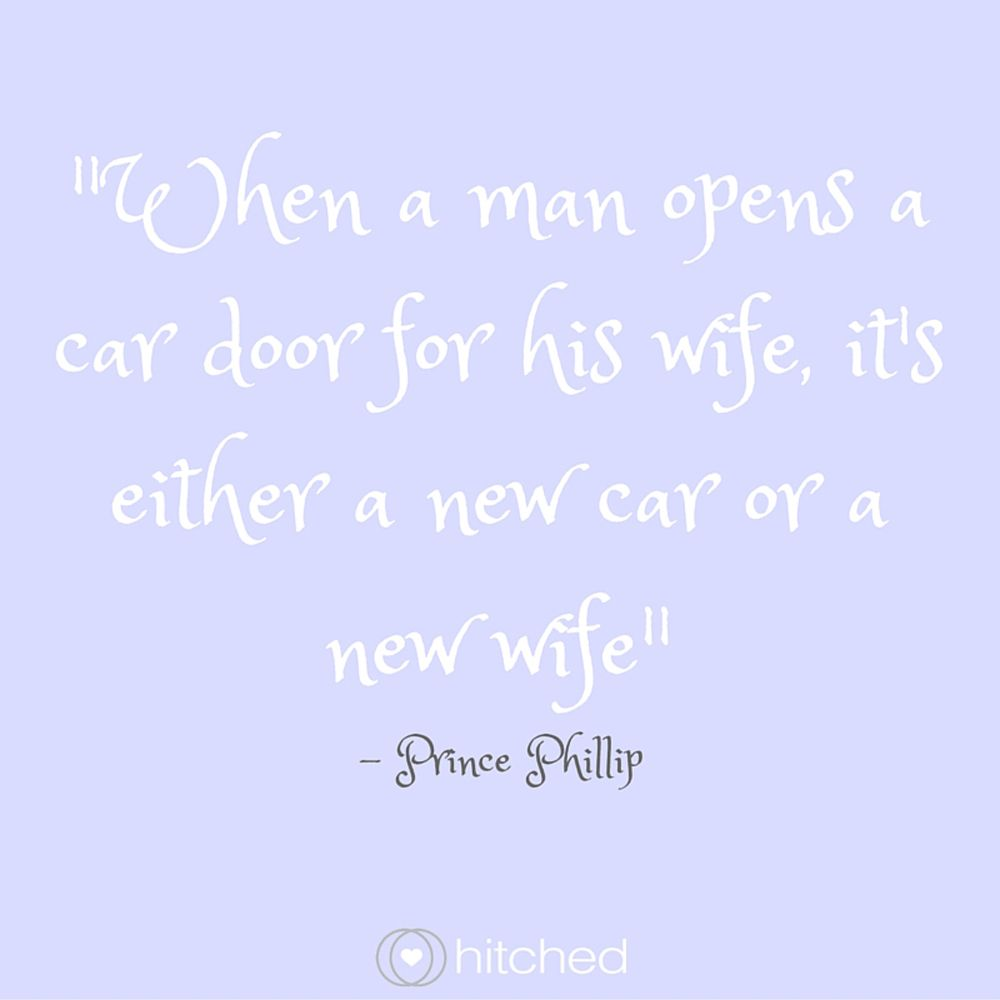 Wedding Speech Quotes When A Man Opens A Car Door For His Wife It's Either A New Car Or A .