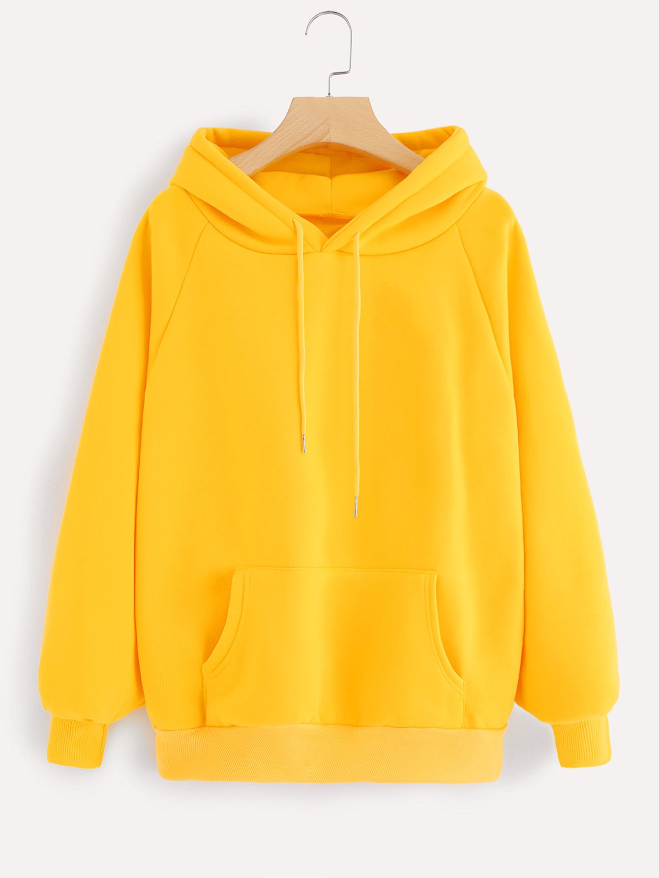 Romwe Womens Hoodie Sweatshirts Casual Long Sleeve Pullover Top with Pockets
