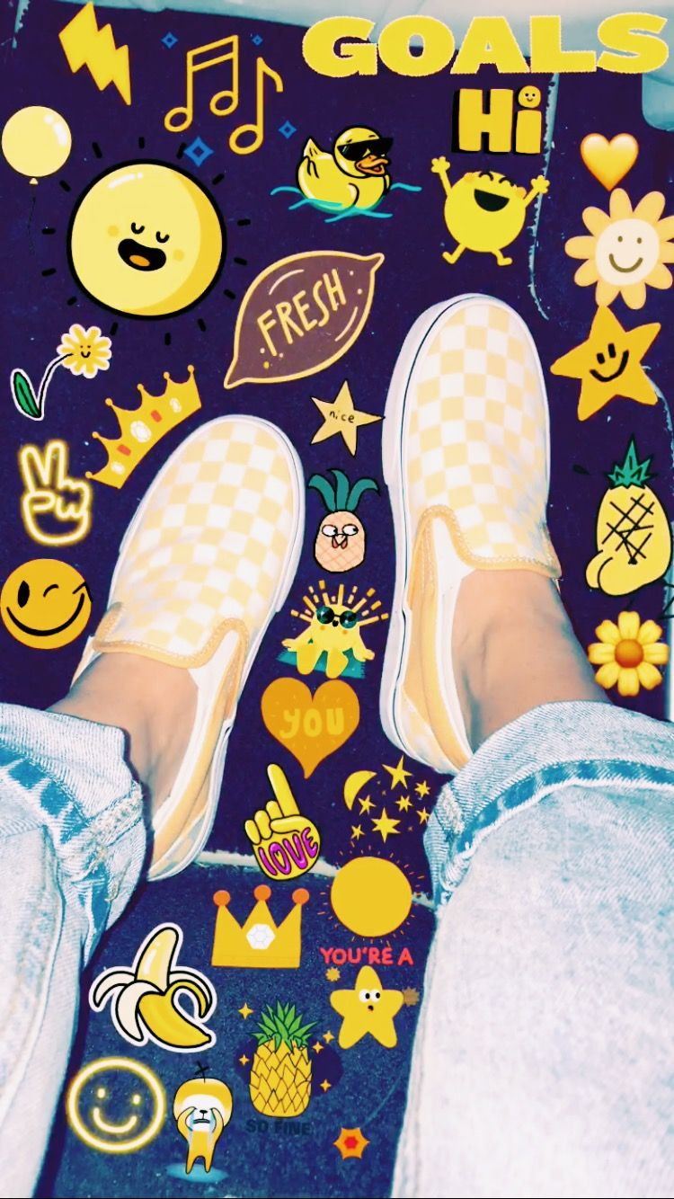 Vsco Ellashatov Yellow Vans Yellow Photography Yellow Aesthetic