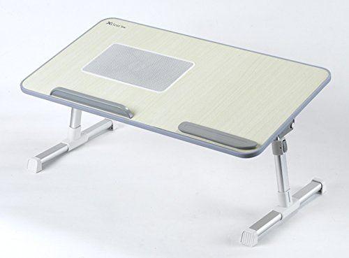 Ergonomic Adjustable Portable Folding Laptop Bedside Table Stand