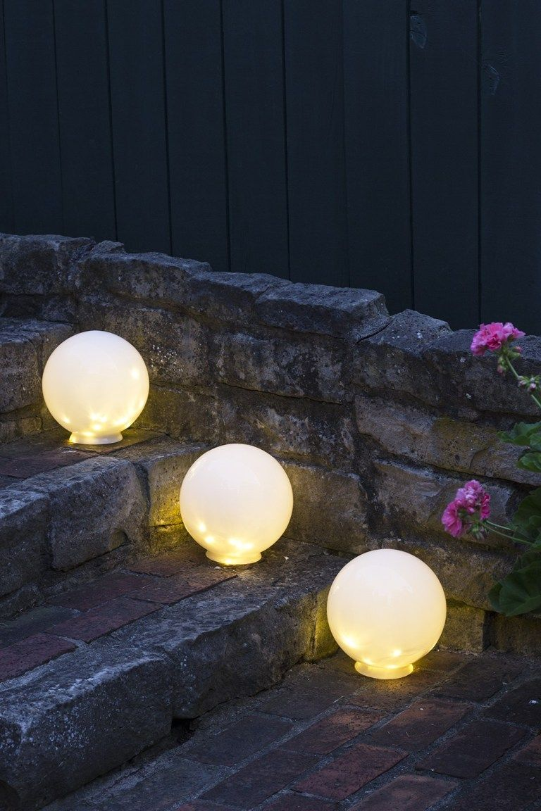 Easy Diy Outdoor Globe Lights Back Yard Ideas