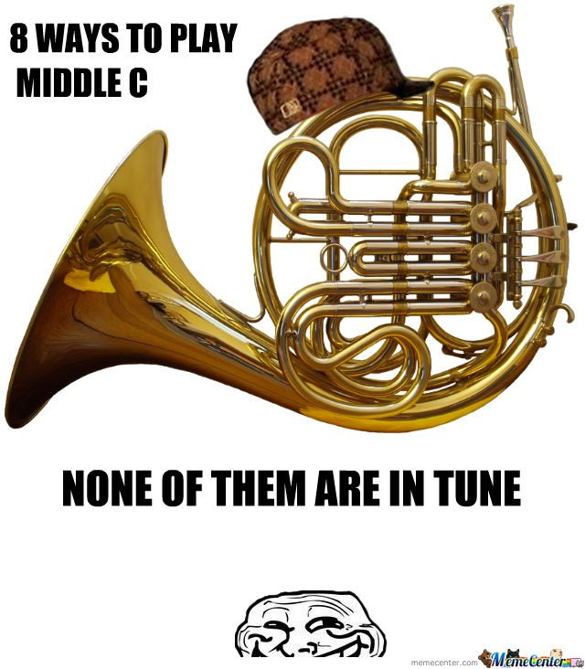 French Horns French Horn Band Jokes Band Puns