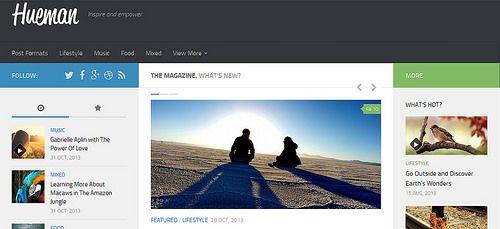 Hueman Wordpress Template Wordpress Theme Free Responsive Best Free Wordpress Themes Wordpress Theme Responsive