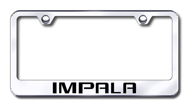Chevrolet Impala License Plate Frame | CHEVROLET License Plate ...