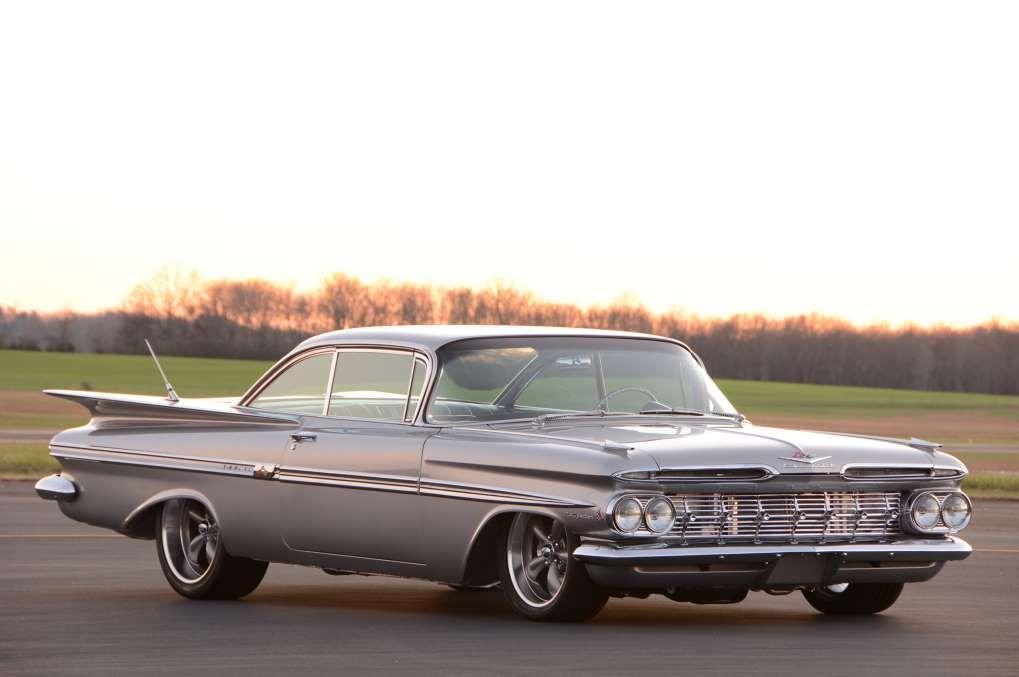 016 1959 Impala Chevrolet Silver 348 409 Injection 1959 Chevy Impala Chevy Impala Impala
