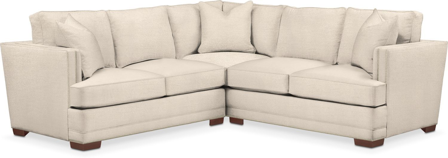 Arden 2 Piece Small Sectional Love Seat Small Sectional Sofa Small Sectional