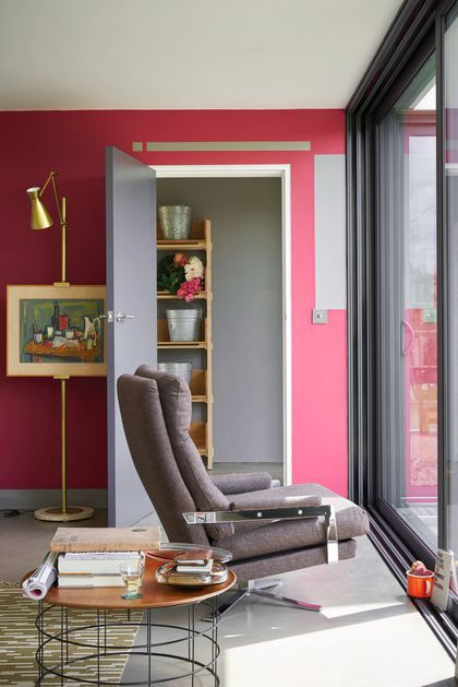 Peinture couleur salle de bain, chambre, cuisine déco murs