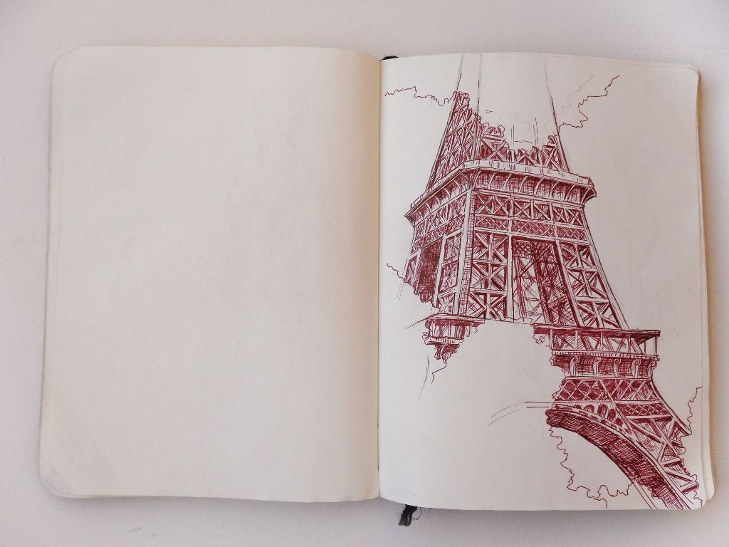 europe sketchbook , italy sketchbook, artist study chelsea ward