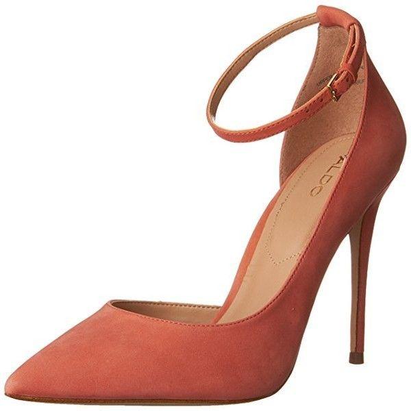 Aldo Women's STAYCEY Pumps, Peach, 7.5 M US ($35) ❤ liked on