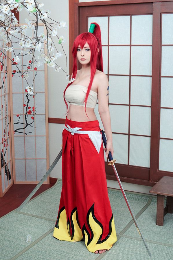 Photo of Erza Elza Scarlet from Fairy Tail