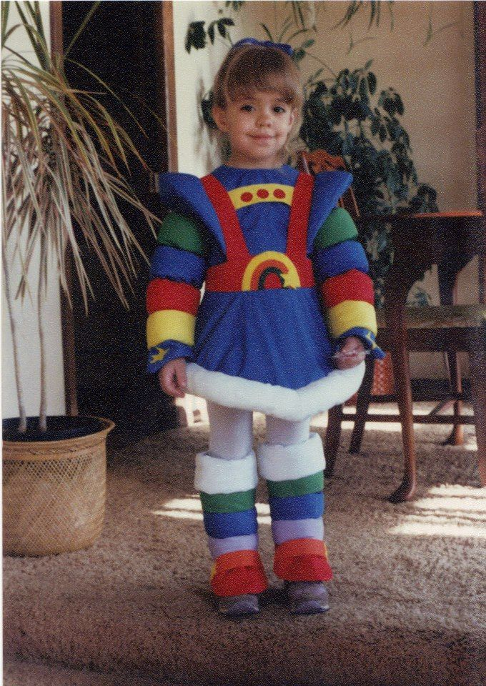 Rainbow Bright  costume !! I had this exact one when I was little!