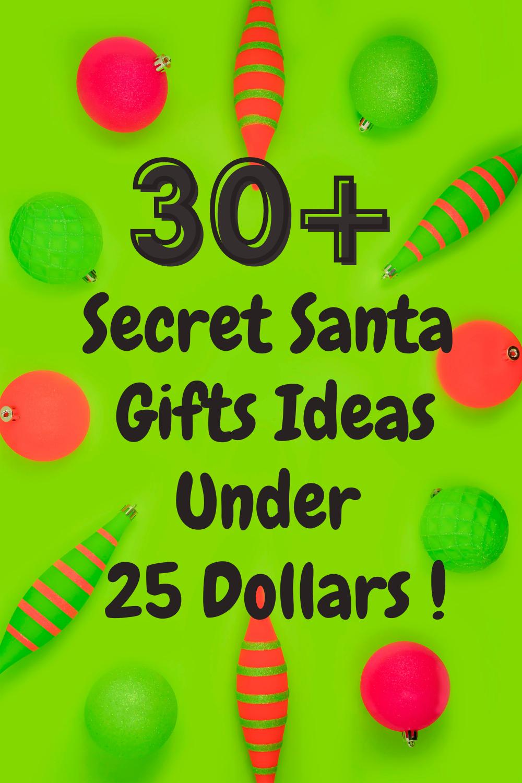 30 Secret Santa Gift Ideas For Under 25 Best Secret Santa Gifts Best White Elephant Gifts Unisex Christmas Gifts