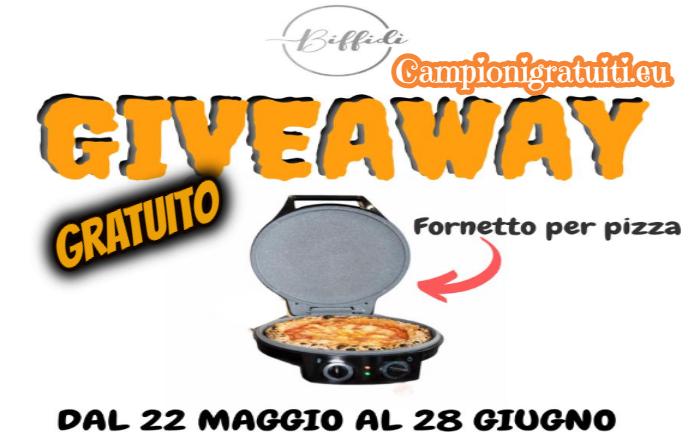 Giveaway Biffidi vinci fornetto per pizza Cecotec