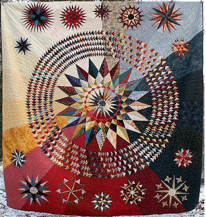 Quilts - Amish Loft | Amish Quilts | Pinterest | Nautical star ... : nautical star quilt pattern - Adamdwight.com
