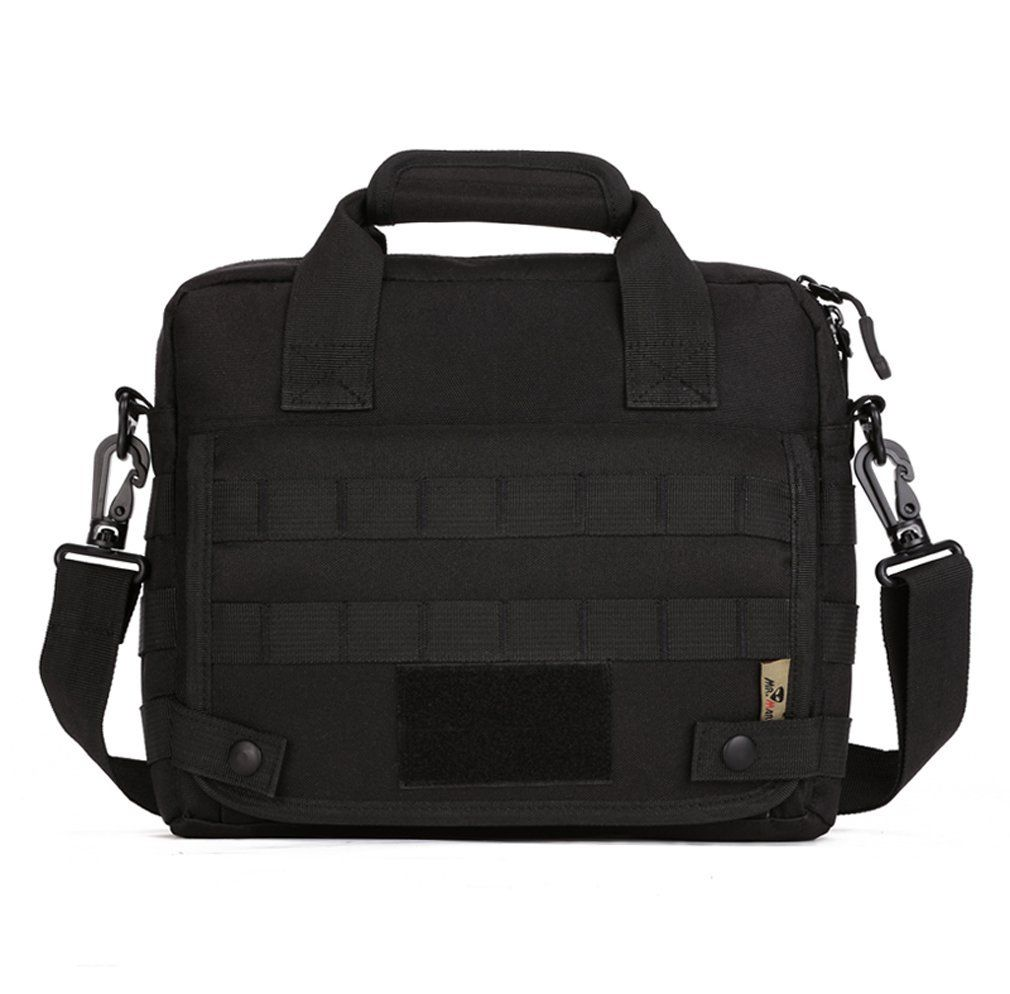 "Nylon Military Tactical Shoulder Bag Handbag Briefcase Tote For 10/"" Laptop"