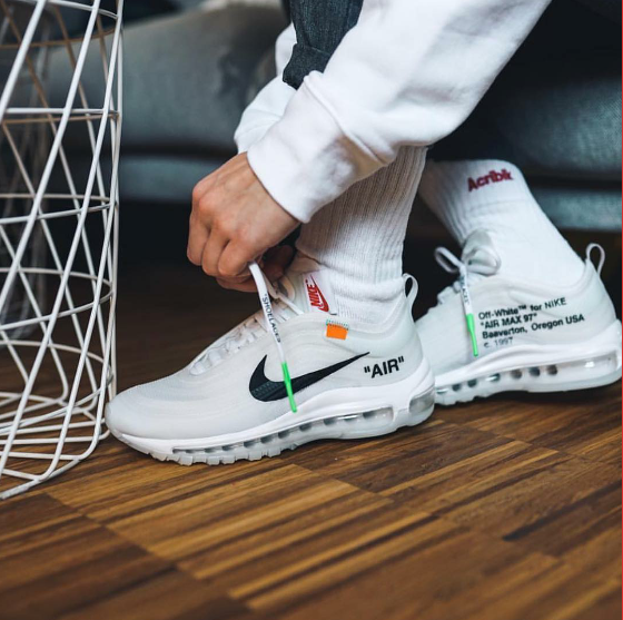 "Virgil Abloh's OFF WHITE x Nike ""The Ten"" NIKE AIR MAX 97"