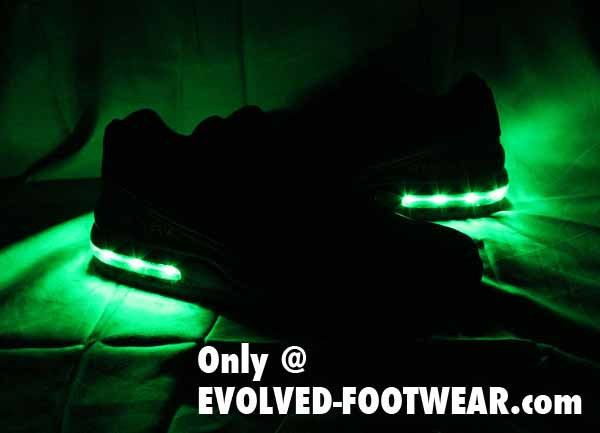 CUSTOM MENS LIGHT UP NIKE AIR MAX LTD THAT FLASHES AS YOU MOVE