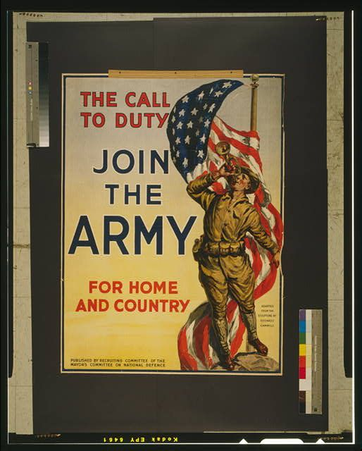 The Call To Duty Join The Army For Home And Country Army Poster Military Poster Joining The Army