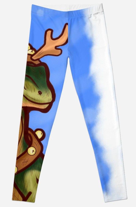 0516b77df209c8 Veloci-Reindeer Leggings #dinosaurs #jurassic #raptor #velociraptor  #christmas