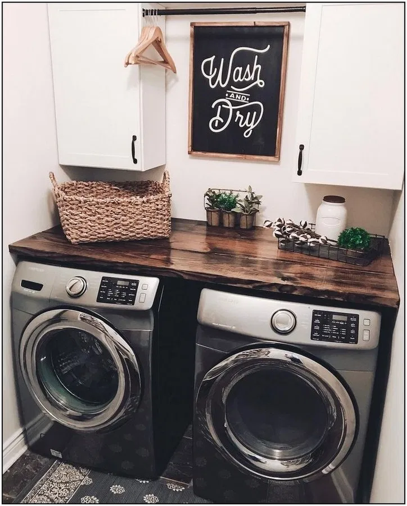 Photo of 40 Best Laundry Room Organization Ideas With Farmhouse Style