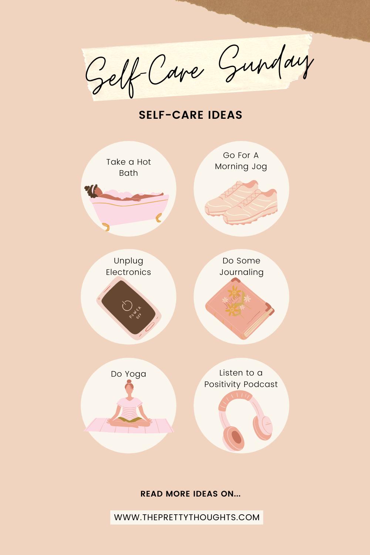 Self-Care Sunday Ideas: 50 Ways to do Self-Care